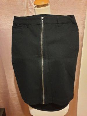 3 Suisses High Waist Skirt black