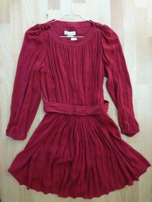 LETZTE CHANCE Romantisches Blogger Isabel Marant Etoile Kleid Rot XS 34 36 FR38