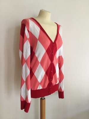Fred Perry Smanicato lavorato a maglia multicolore Cotone