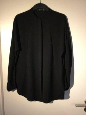 LETZTE REDUZIERUNG - danach wird ENTFERNT  /  HALLHUBER  Bluse      tiefschwarz   raffiniert  elegant