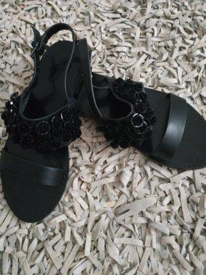letzte Reduzierung-Mango Leder Sandalen
