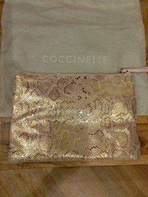 Letzte Reduzierung! Original Coccinelle - Clutch in rosa mit gold - neu mit Verpackung!