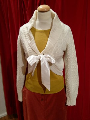 Pepe Jeans London Knitted Bolero natural white