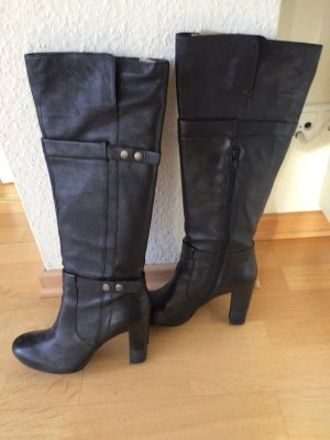 Bruno Premi Heel Boots black leather