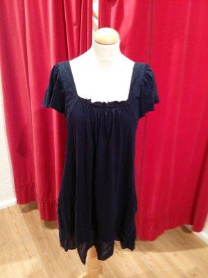 Letzte Reduzierung! Top lang/ Minikleid von Velvet, Baumwolle, dunkelblau, Gr. M - gut!