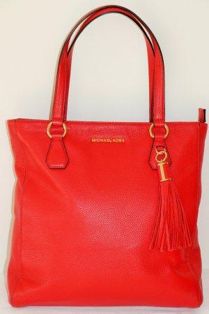 Michael Kors Sac porté épaule rouge cuir
