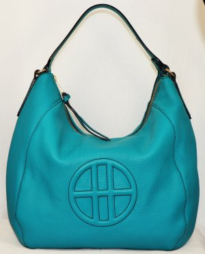 Hugo Boss Hobos turquoise leather
