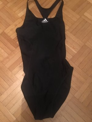 Letzter Preis: Adidas Badeanzug schwarz mit Racerback Gr. 34