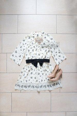 H&M Vestido babydoll multicolor