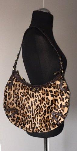 LETZTER PREIS +++   Handtasche Leopard Fell bedruckt; elegant +++ NEU