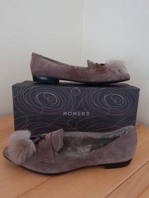 Homers Slippers black-grey brown