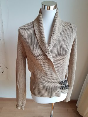 Laura Ashley Wraparound Jacket sand brown-light brown