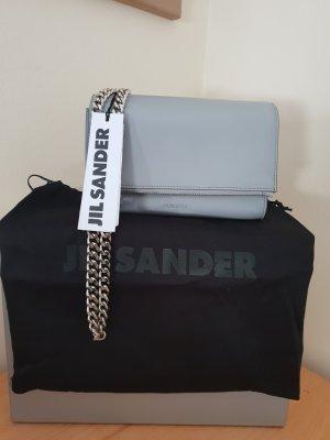 Jil Sander Sac porté épaule argenté-gris clair