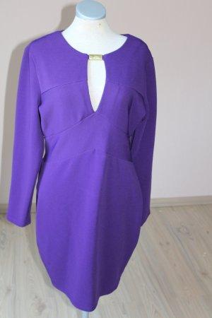 letzter Preis! Kardashian Kollection Bodycon sexy Kleid lila Gr. 16 Langarm