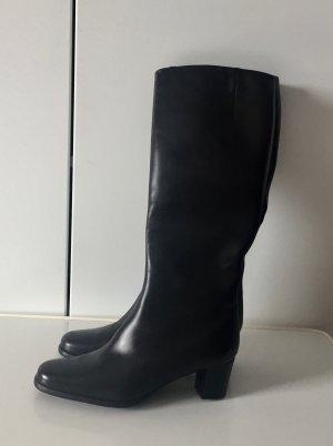 LETZTER PREIS +++ Klassischer Stiefel schwarz  +++ Neu