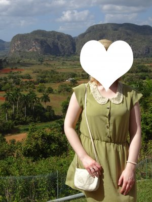 *Letzter Preis* Lindgrünes Kleid #Vintage