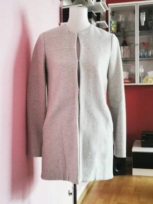 s.Oliver Blazer long gris clair-beige clair tissu mixte