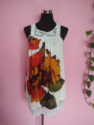 *Letzter Preis* Luftiges Sommerkleid mit Blumenaufdruck (Box 6)