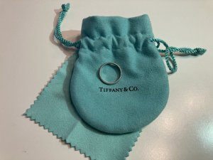 Tiffany&Co Partner Ring silver-colored metal