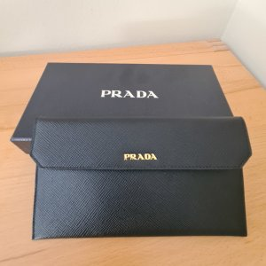Prada Wallet black-red