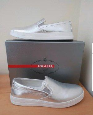 Prada Slippers white-silver-colored