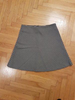 Reserved Circle Skirt white-black