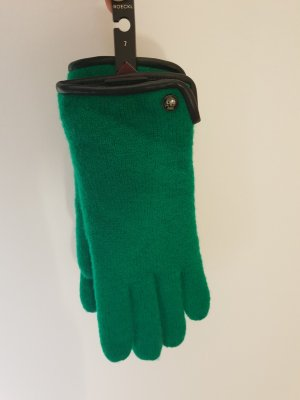 Roeckl Knitted Gloves black-green