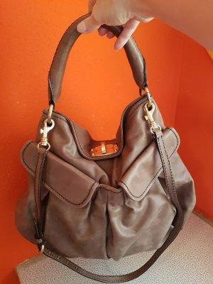 Miu Miu Handbag taupe-grey brown leather