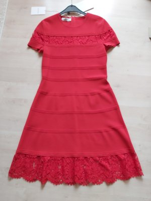Valentino Robe en maille tricotées rouge