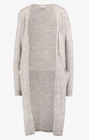 Vila Knitted Coat light grey mixture fibre