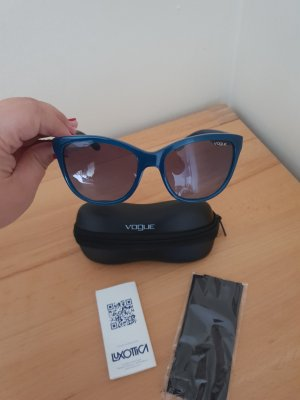 Vogue Gafas de sol redondas petróleo