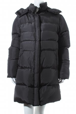 Blaumax Down Coat black-silver-colored polyester