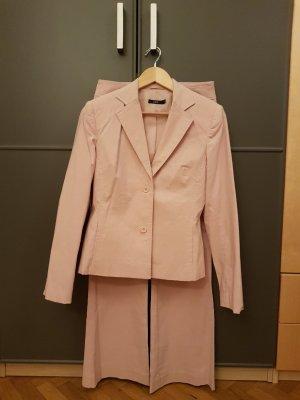 Zero Traje de negocios rosa empolvado