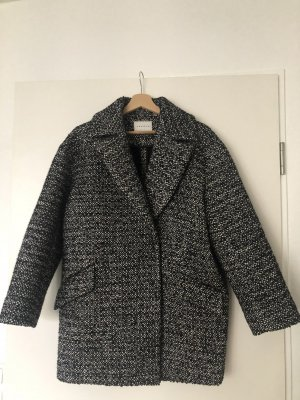 Sandro Paris Peacoat wit-zwart