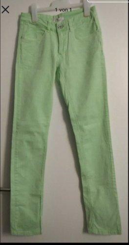 leuchtend  apfel-grüne yaya Jeans 36 NEU