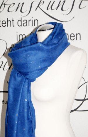 s.Oliver Pashmina blue-silver-colored