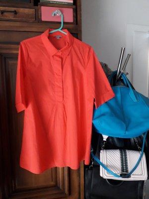 COS Bluzka oversize czerwony