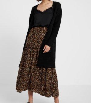 Cappotto a maglia nero-antracite