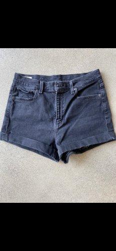 Levi's High Waist Jeans black-anthracite