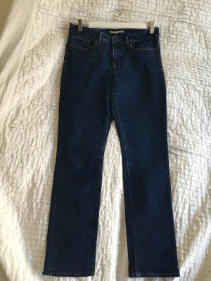 Levi Strauss & Co Jeansy ze stretchu niebieski-ciemnoniebieski Bawełna