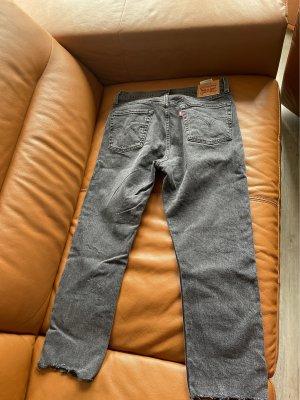 Levi Strauss & Co Jeans a 7/8 nero-grigio