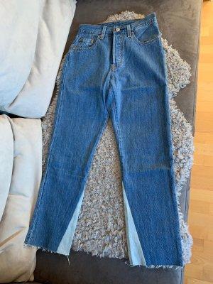 "Levi's ""501 Crop Jeans"" Everlasting Symmetry Weite 24 Länge 26"