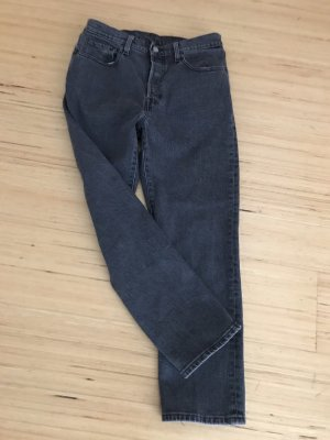 Levi's 501 Crop schwarz/grau 28/26