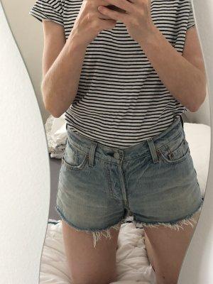 Levi's Denim Shorts blue-azure