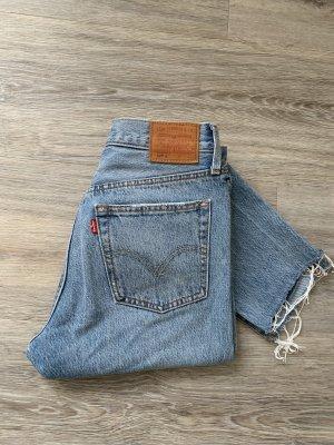Levi's High Waist Jeans steel blue-blue