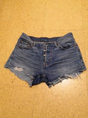 Levi's Pantalón corto de tela vaquera azul