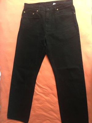 Levi's Jeansy z prostymi nogawkami czarny Bawełna