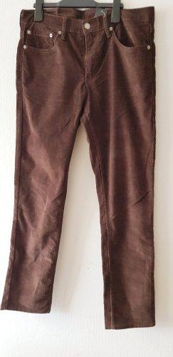 Levi's Pantalon en velours côtelé bronze