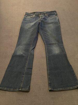 Levi Strauss & Co Jeansy o kroju boot cut niebieski