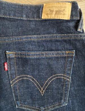 Levi Strauss & Co Jeansy o kroju boot cut ciemnoniebieski